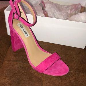 Hot Pink Steve Madden Heels